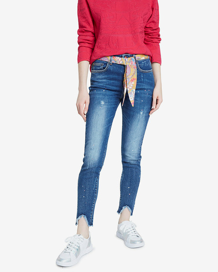 Desigual Denim Rainbow Дънки