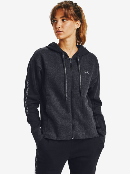 Under Armour Rival Fleece Embroidered Full Zip Суитшърт