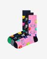 Happy Socks Cat Gift Box Чорапи 3 чифта