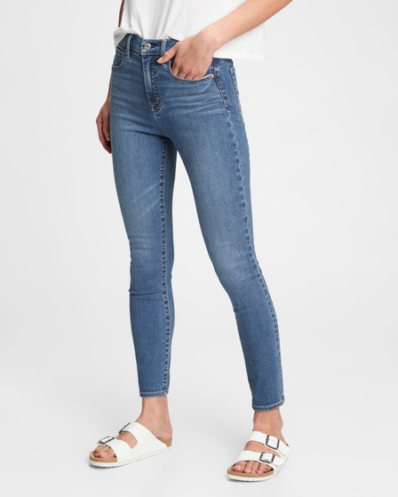 GAP High Rise True Skinny Дънки