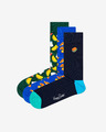 Happy Socks Junk Food Gift Box Чорапи 3 чифта