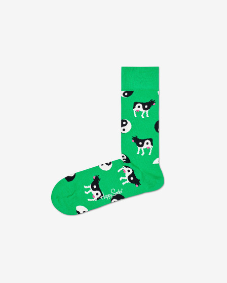 Happy Socks Ying Yang Cow Чорапи
